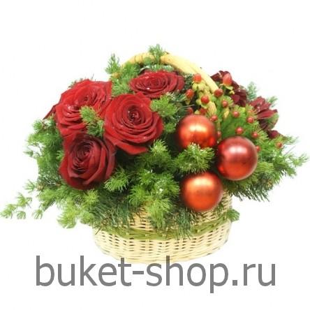 Доставка цветов новый год — 12